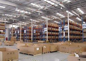 Standardized warehouse