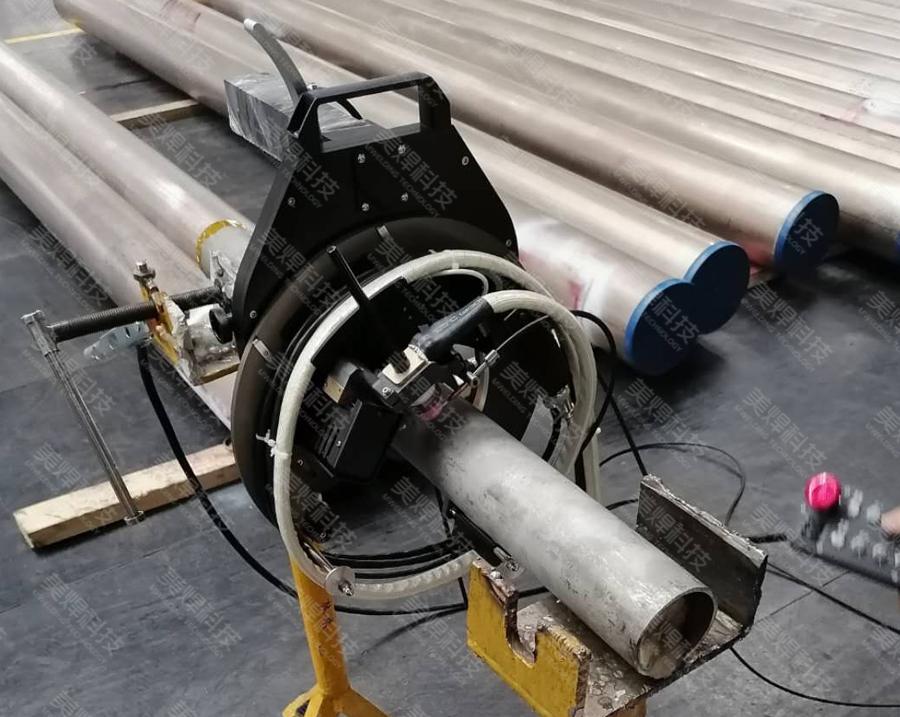 MWG series open pipe welding equipment applied in petrochemical industry