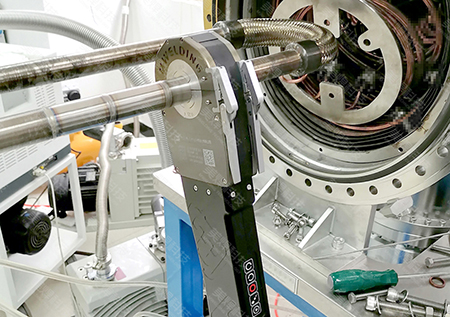 Mwf-80 closed pipe welding tongs